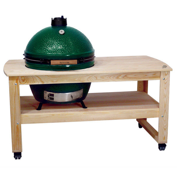 Big Green Egg Table Dallas Unfinished Cypress Table